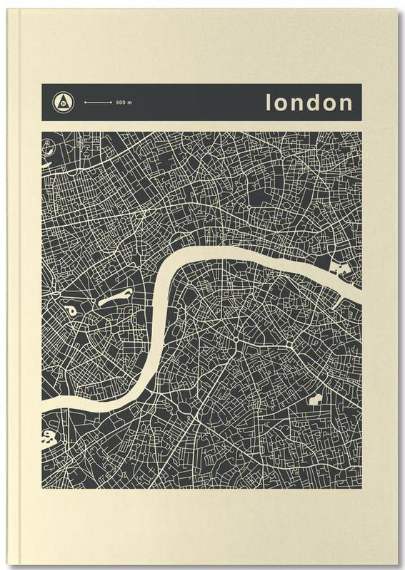 City Maps, London, City Maps Series 3 Series 3 - London Notebook