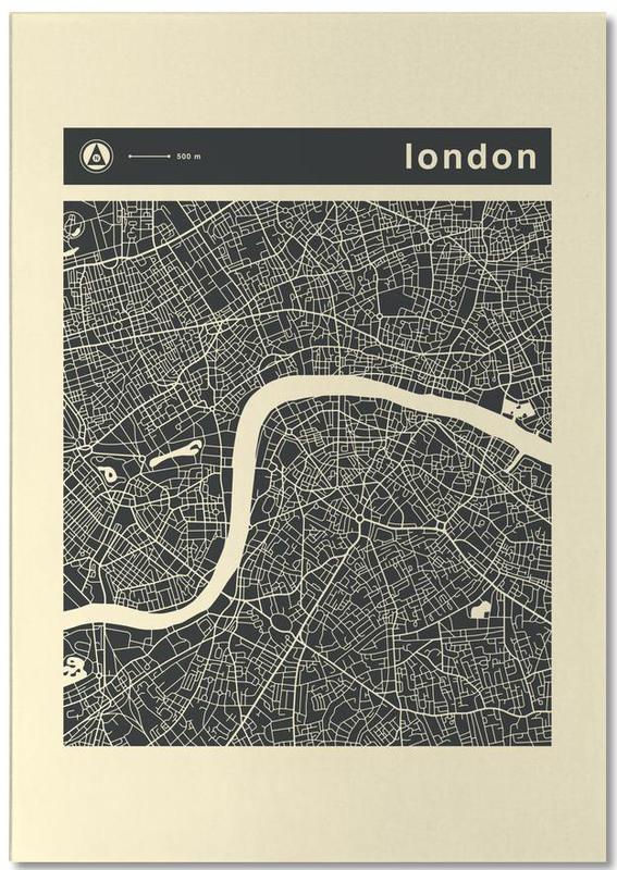 City Maps, London, City Maps Series 3 Series 3 - London Notepad