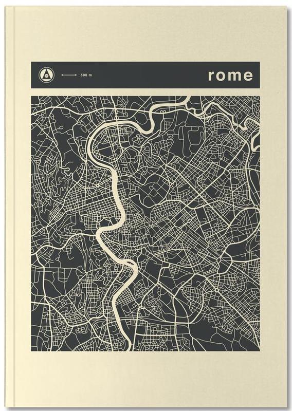 Cartes de villes, Rome, City Maps Series 3 Series 3 - Rome Notebook