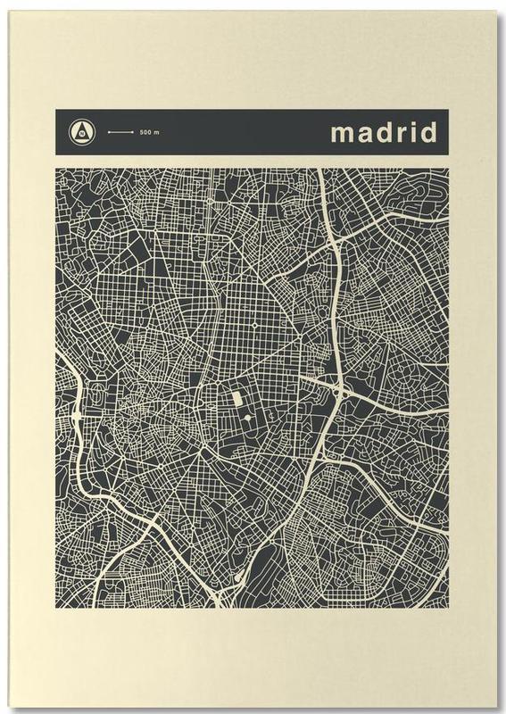 City Maps, Madrid, City Maps Series 3 Series 3 - Madrid Notepad