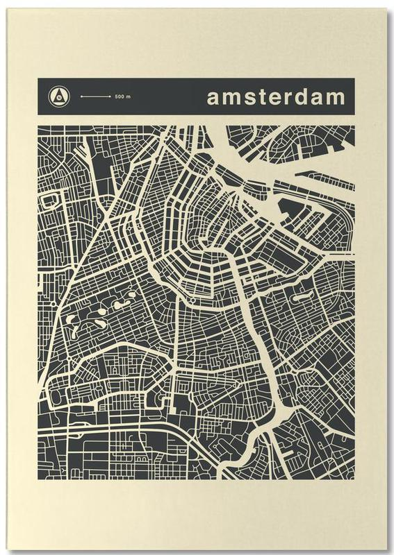 City Maps Series 3 Series 3 - Amsterdam Notepad