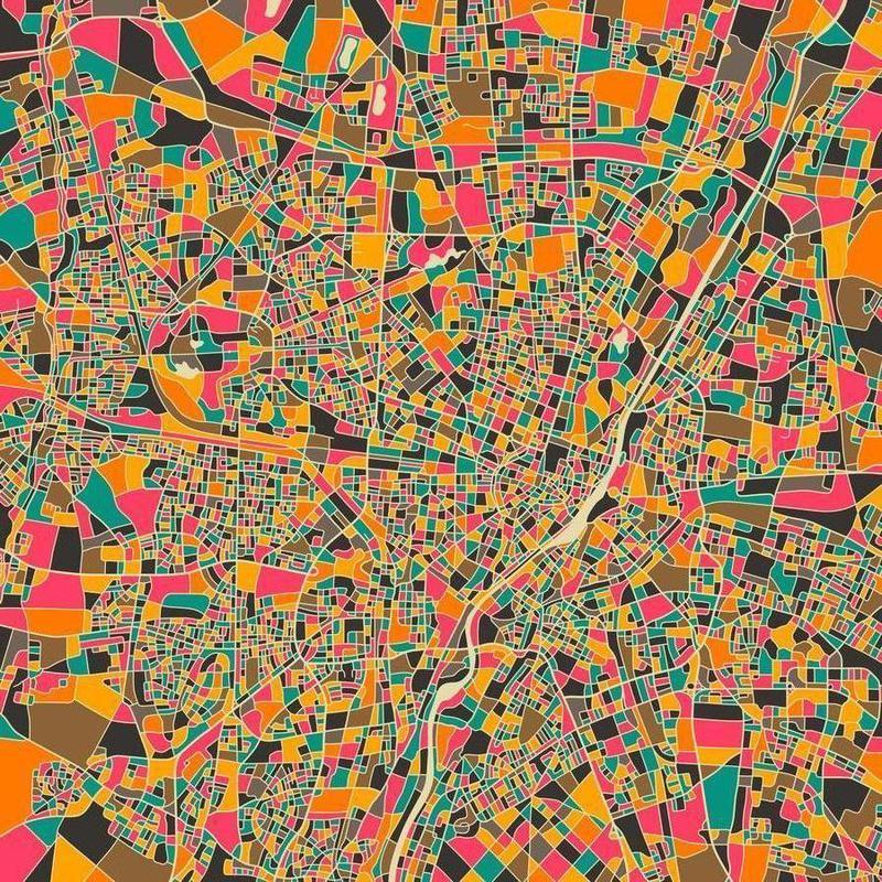 Munich canvas doek