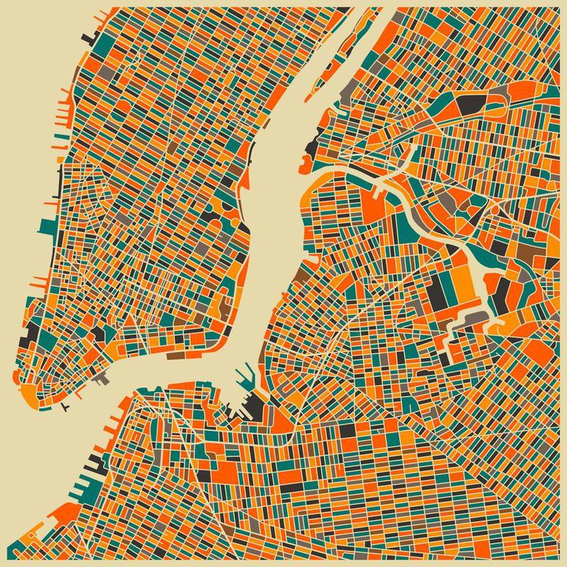New York alu dibond