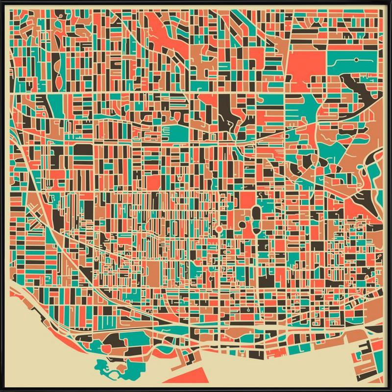 Toronto -Bild mit Kunststoffrahmen