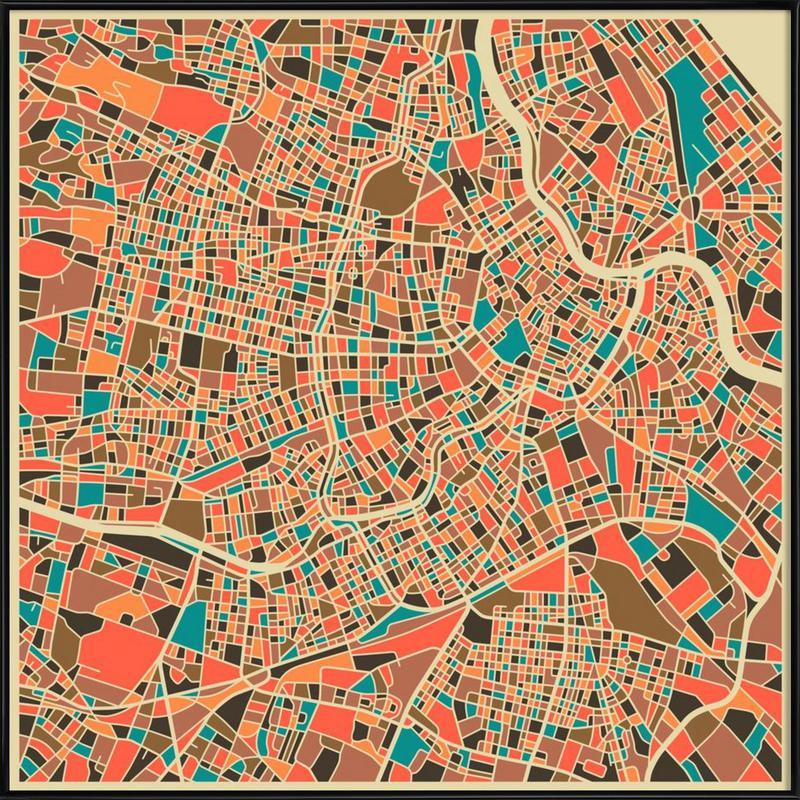 Vienna -Bild mit Kunststoffrahmen