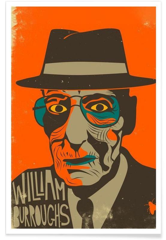 William Burroughs Poster