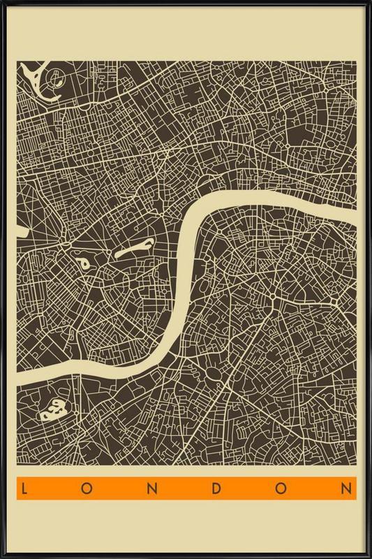 London II Framed Poster