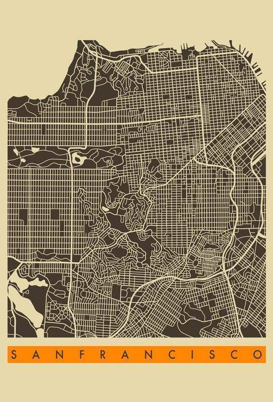 San Francisco II -Alubild