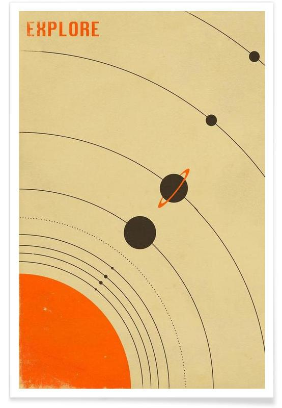 , Solar System affiche