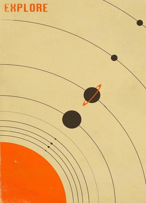 Solar System toile