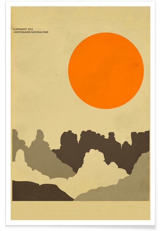 Canyonlands National Park affiche