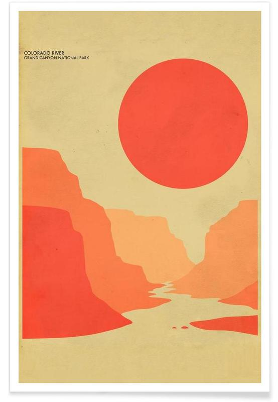 Voyages, Grand Canyon National Park affiche