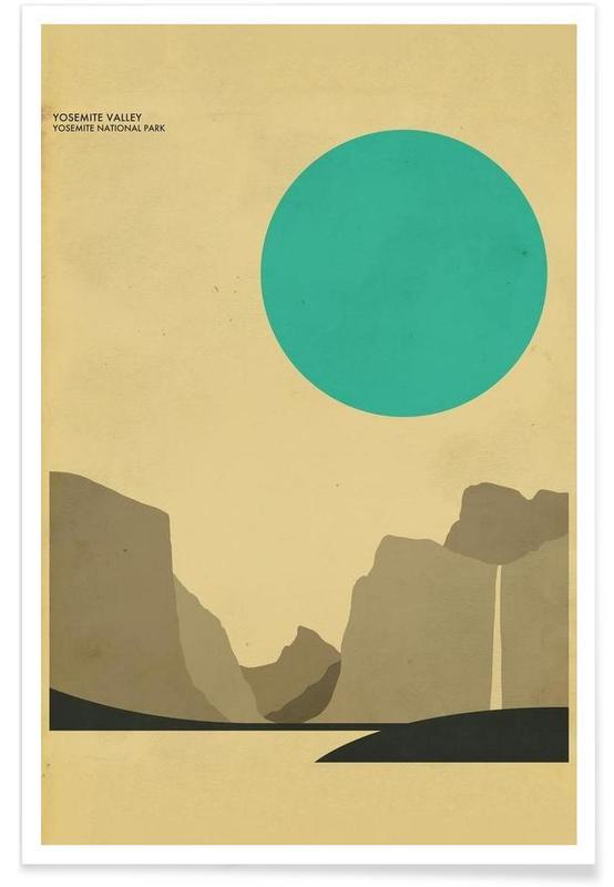 Voyages, Yosemite National Park affiche