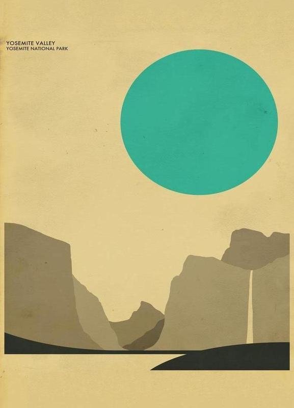 Yosemite National Park canvas doek