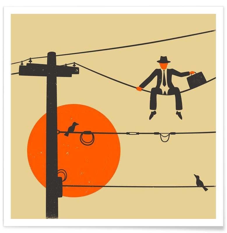, Man on a wire affiche