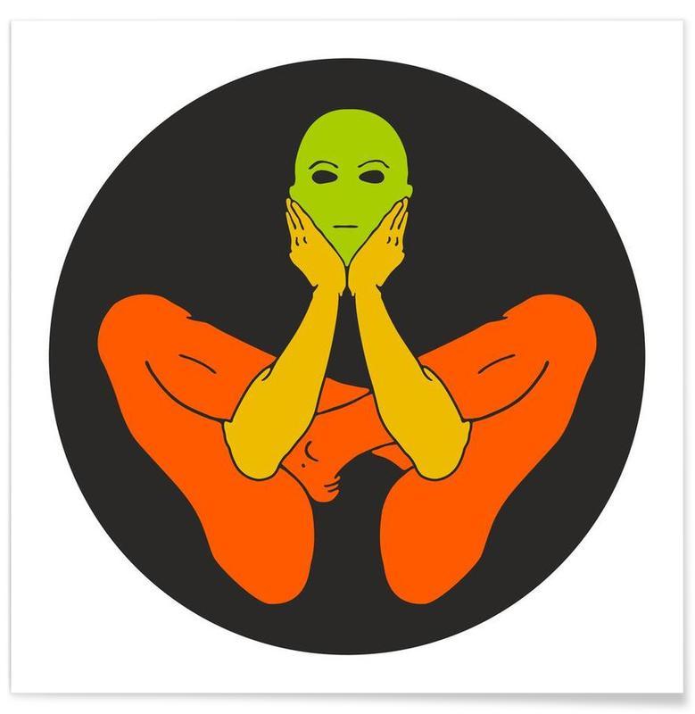 Yoga, Patanjali Yoga Garbhasana poster