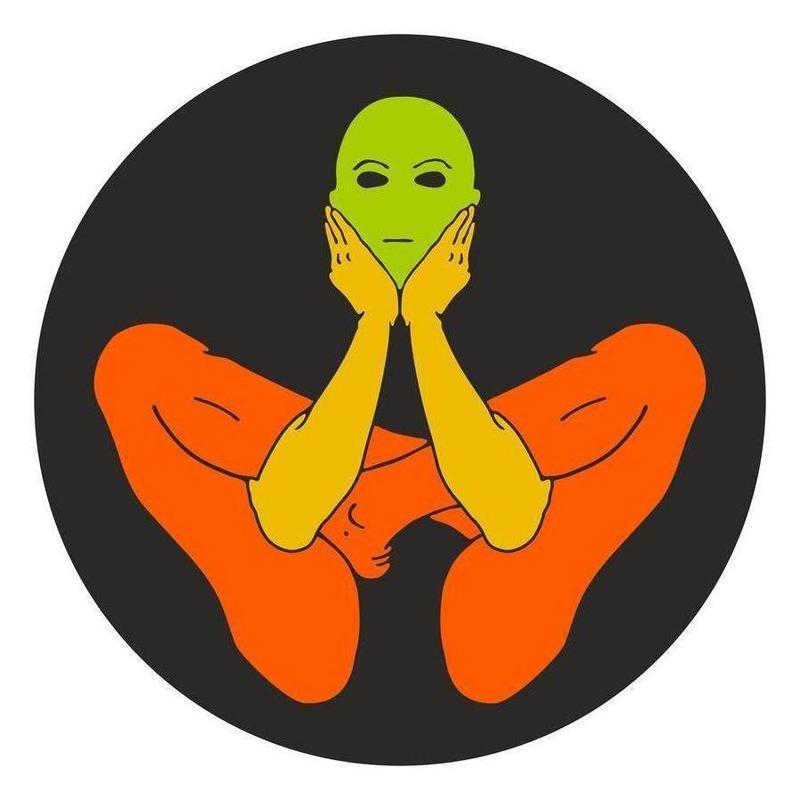 Patanjali Yoga Garbhasana Canvas Print