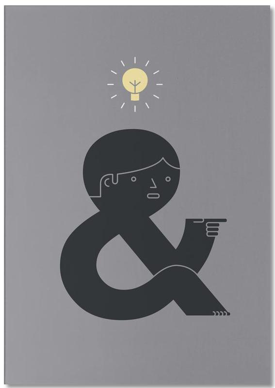 Glückwünsche, Kinderzimmer & Kunst für Kinder, An Idea -Notizblock
