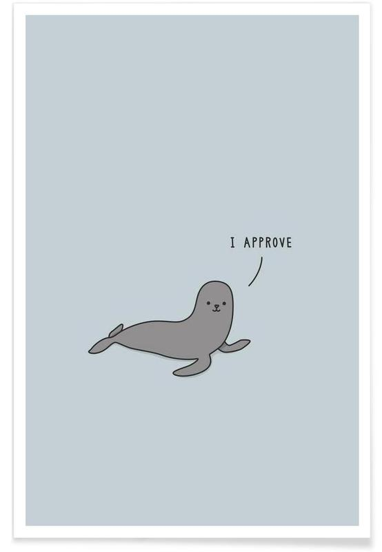 Humour, Seal of Approval affiche
