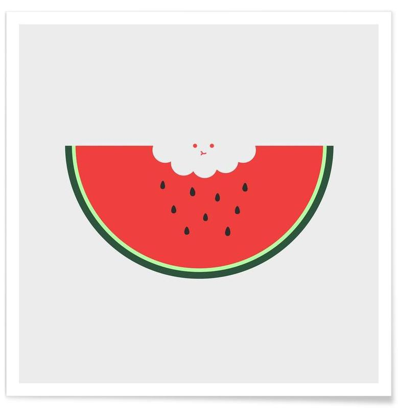 Watermelons, Water Melon Poster