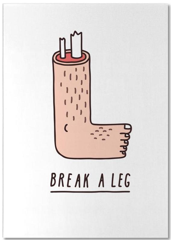 Break a Leg Notepad