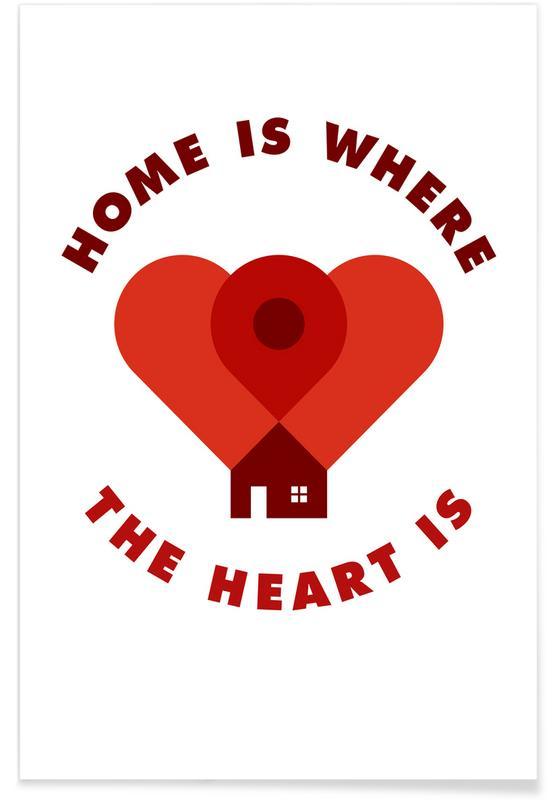 Housewarmings, Quotes en slogans, Grappig, Home poster