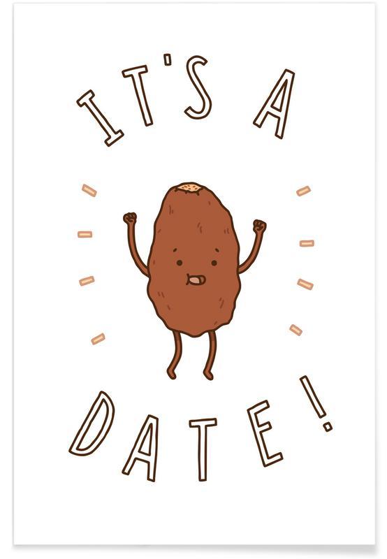 It's a Date affiche