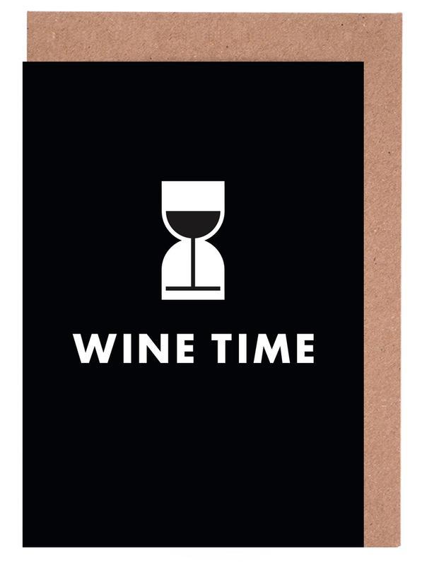 Wine Time -Grußkarten-Set