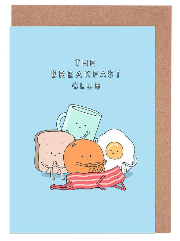 The Breakfast Club Greeting Card Set