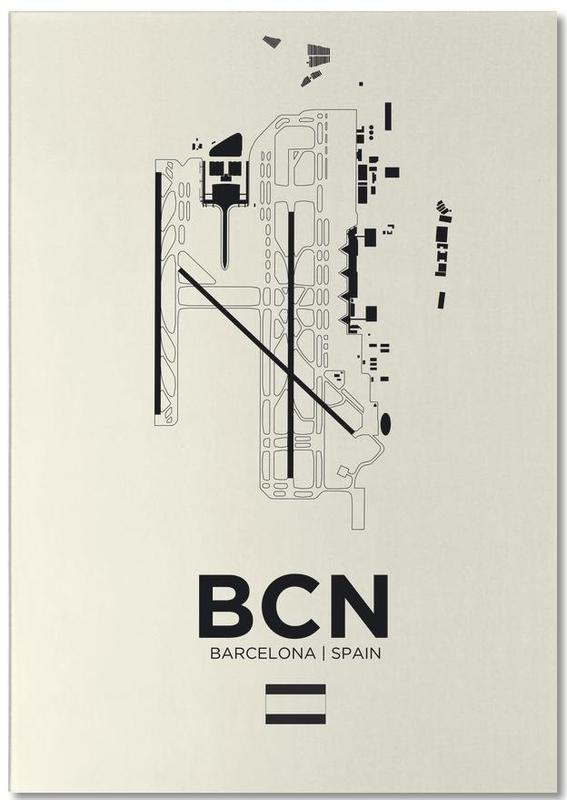 Barcelona, Reizen, BCN Airport Barcelona notitieblok