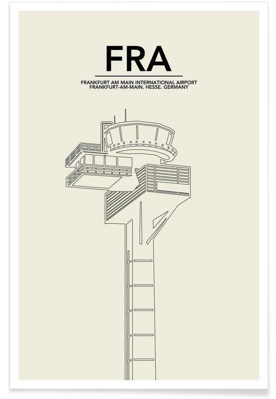 FRA Frankfurt Tower affiche