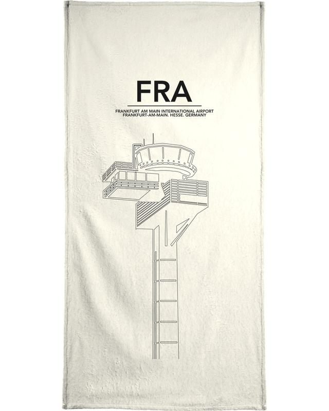 Frankfurt, FRA Frankfurt Tower Bath Towel