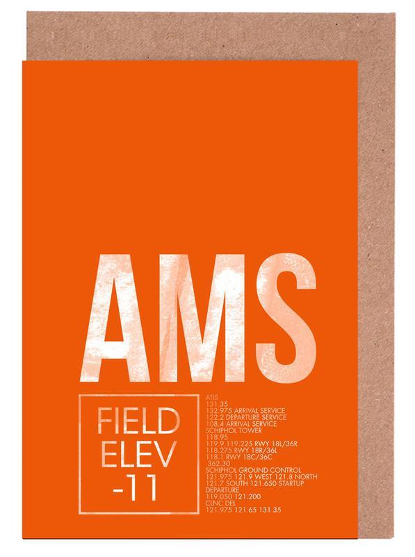 AMS Amsterdam Greeting Card Set