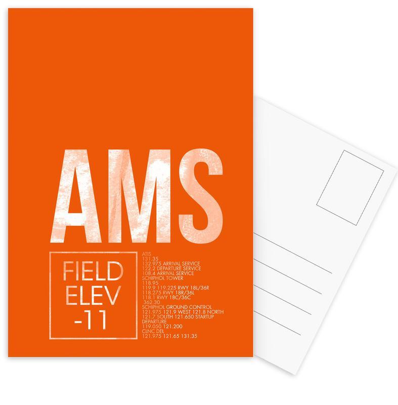 AMS Amsterdam -Postkartenset