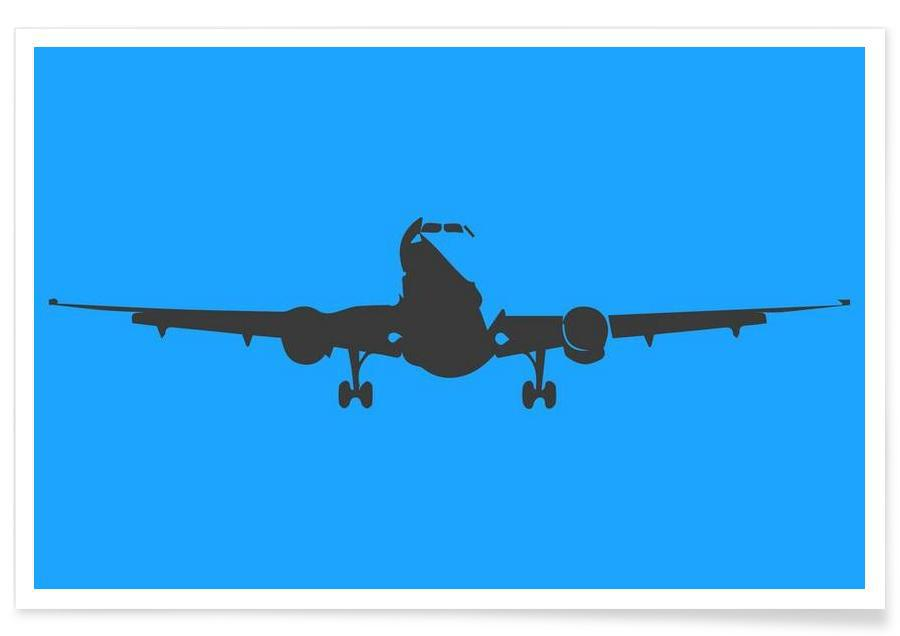 Airplanes, Fly With A Color Poster