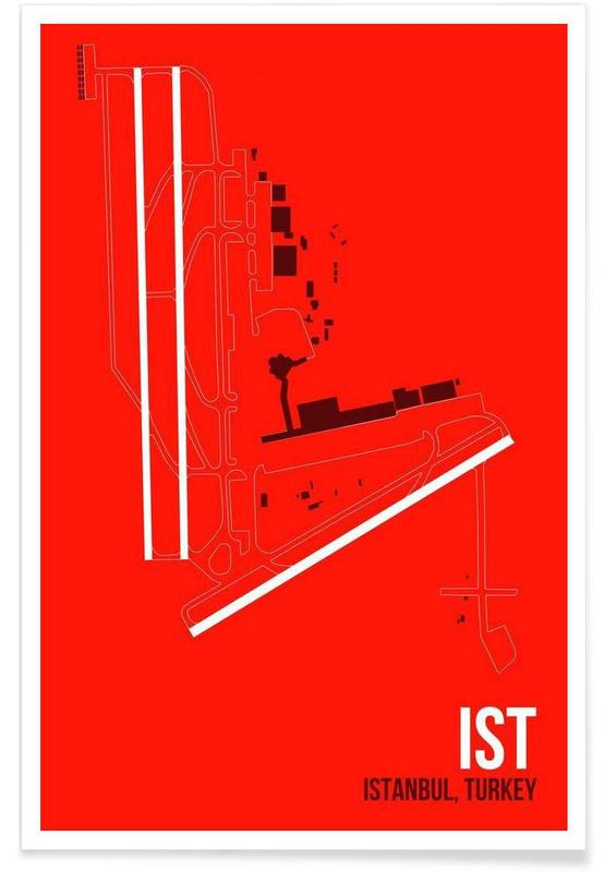 Istanbul, IST Airport Istanbul Poster