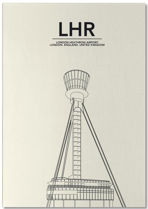London, LHR London Tower Notepad