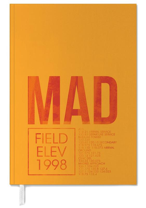 MAD Madrid Personal Planner
