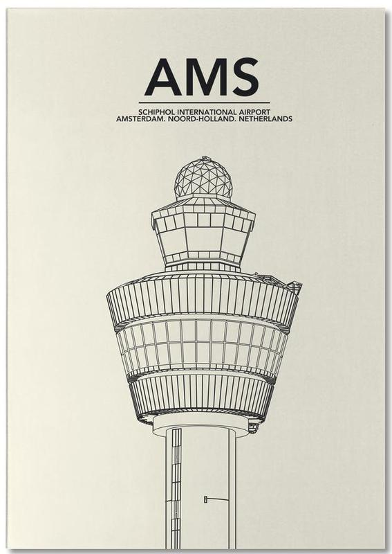 AMS Amsterdam Tower Notepad