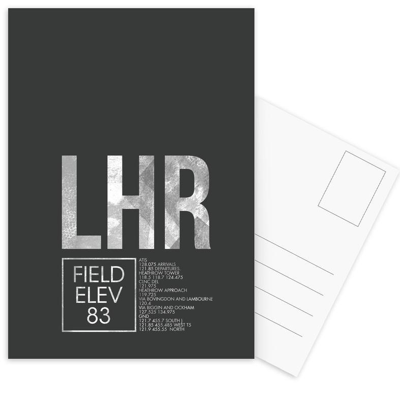 Londen, Reizen, LHR London ansichtkaartenset