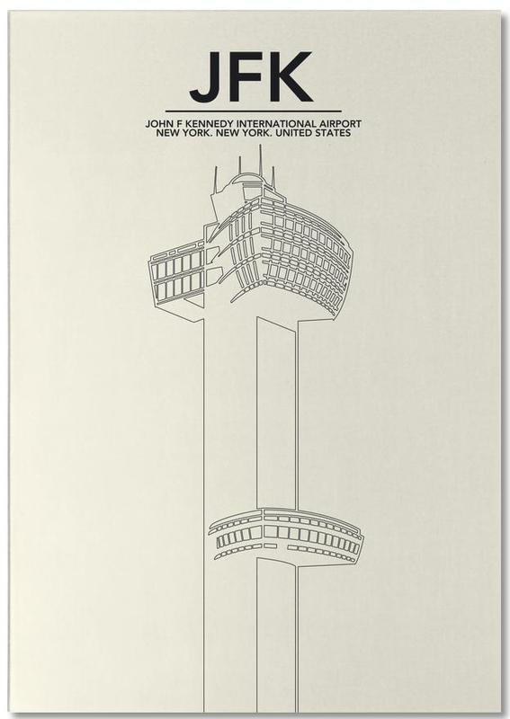 New York, JFK New York Tower bloc-notes