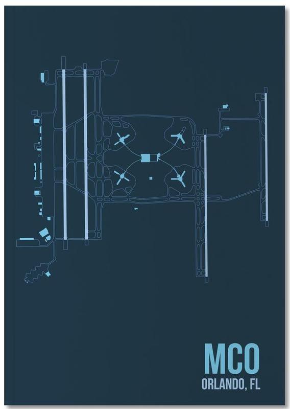 Voyages, MCO Airport Orlando Notebook