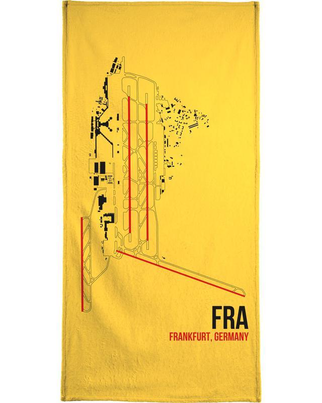 FRA Airport Frankfurt -Handtuch