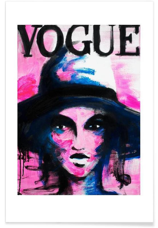 Illustrazioni di moda, Vogue poster