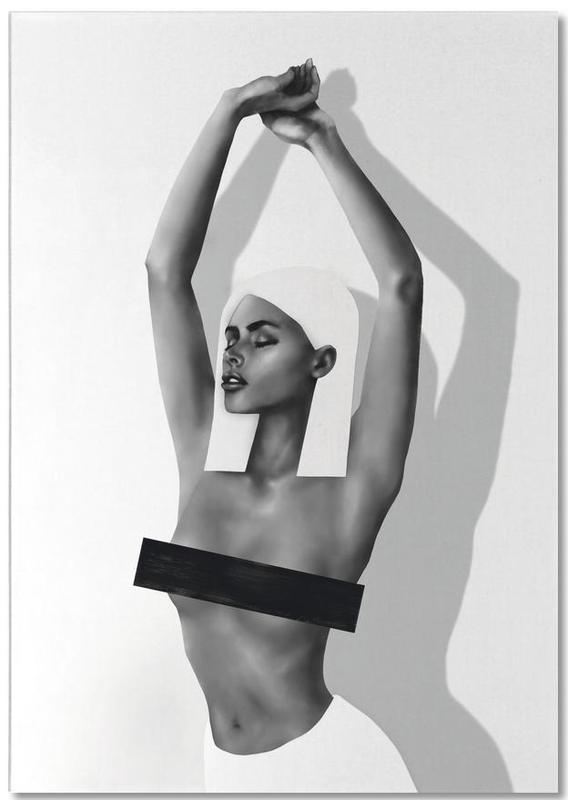 Black & White, Body Close-Ups, Monika Notepad