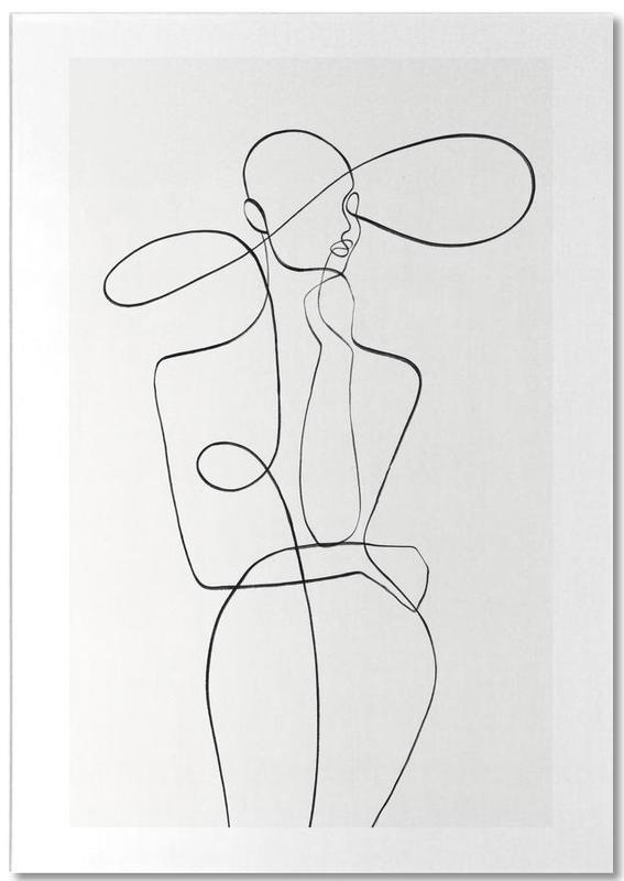 Noir & blanc, Détails corporels, Monday bloc-notes