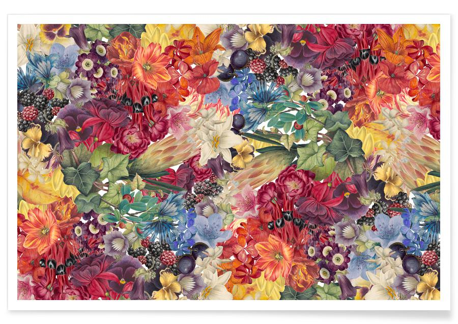 Blätter & Pflanzen, Flowers -Poster