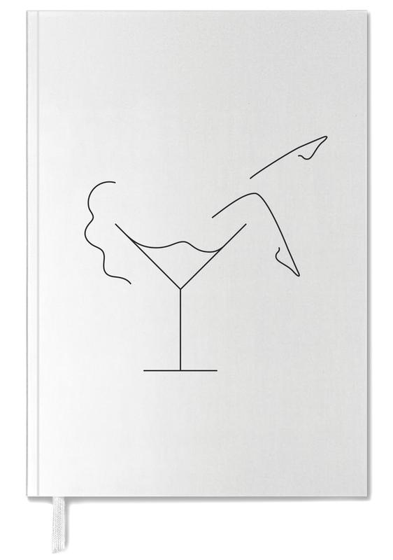 Black & White, Cocktail Personal Planner
