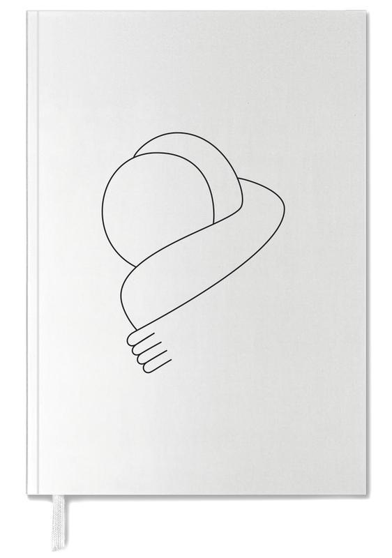Black & White, Hug Personal Planner