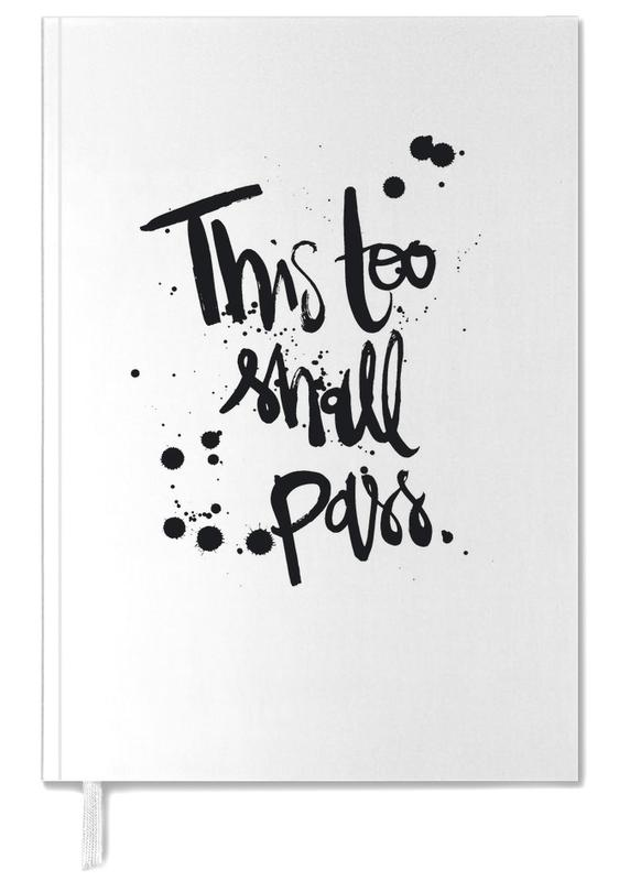 This Too Shall Pass Personal Planner